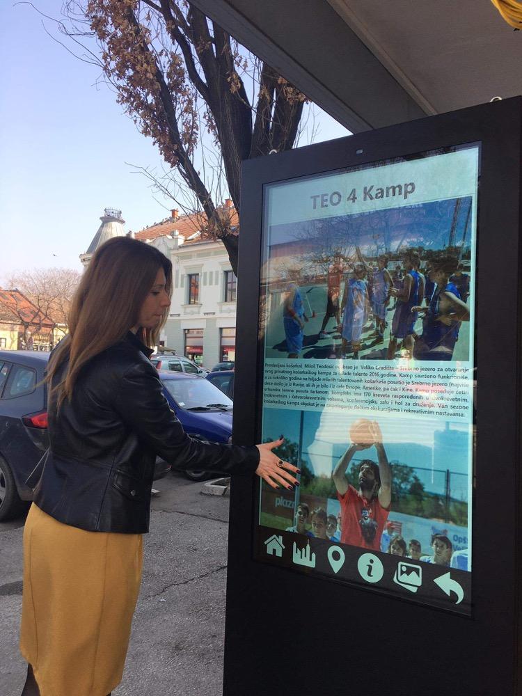 Savremeni načini informisanja turista u Požarevcu i Velikom Gradištu 50800